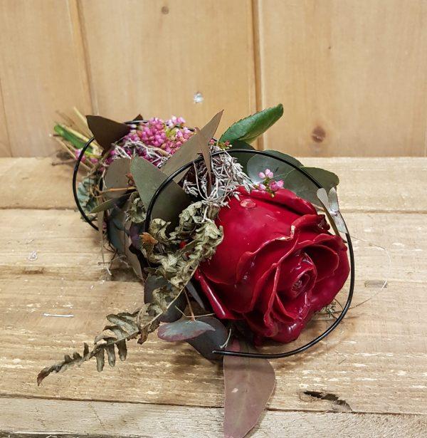 gewachste Rose